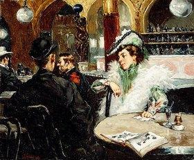 Gaetano de Las Heras: Im Café