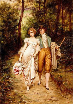 Joseph Frederick Charles Soulacroix: Liebeswerben