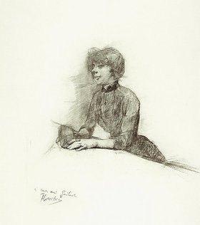 Henri de Toulouse-Lautrec: Sitzende Frau