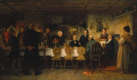 Benjamin Vautier: Ein Zweckessen auf dem Lande