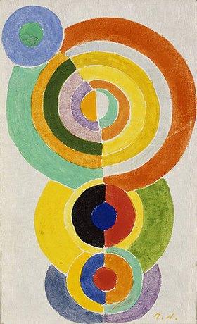 Robert Delaunay: Rhythmus I