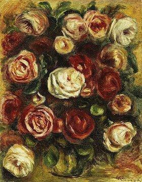 Auguste Renoir: Vase mit Rosen
