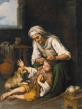 Bartolomé Estéban Murillo: Häusliche Toilette