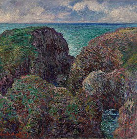 Claude Monet: Felsengruppe bei Port-Goulphar (Bloc de Rochers à Port-Goulphar)