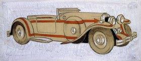 Ernst Deutsch-Dryden: Illustration eines 1924 Delage mit Karosserie von Letourneur et Marchand