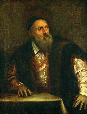 Tizian (Tiziano Vecellio): Selbstbildnis