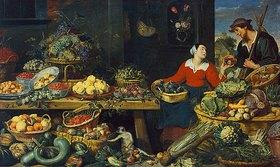Frans Snyders: Obst- und Gemüseladen