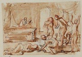 Charles Alphonse Dufresnoy: Tod der Lukretia