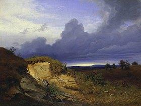 Eduard Schleich d.Ä.: Mittagsrast in der Sandgrube