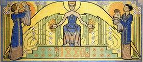 Jan Toorop: Wächter über das Leben (Entwurf für ein Wandgemälde) (Le Gardien de la Vie)