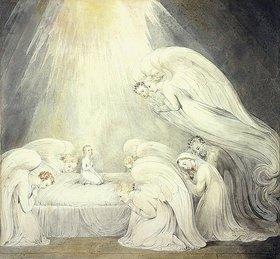 William Blake: Das Jesuskind beim Gebet