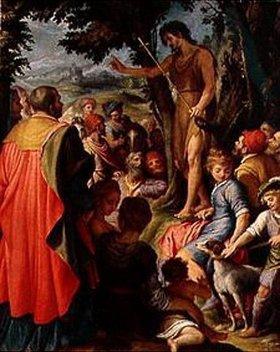 Agostino Ciampelli: Johannes d.Täufer predigt in der Wüste