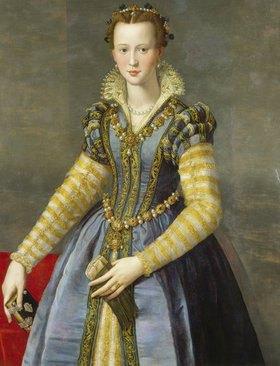 Alessandro (Bronzino) Allori: Maria de Medici (1540-1557)