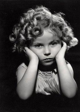 Anonym: Die amerikanische Jungschauspielerin Shirley Temple (1918-2014)