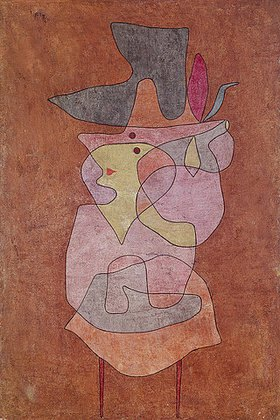Paul Klee: Dame Daemon. 1935, 115 (P 15)
