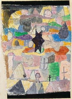 Paul Klee: Unter schwarzem Stern