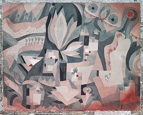 Paul Klee: Trocken-Kühler Garten. 1921, 83
