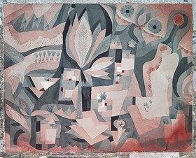 Paul Klee: Trocken-Kühler Garten