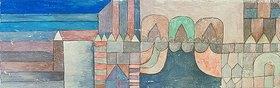 Paul Klee: Feierlicher Eingang. 1928, F