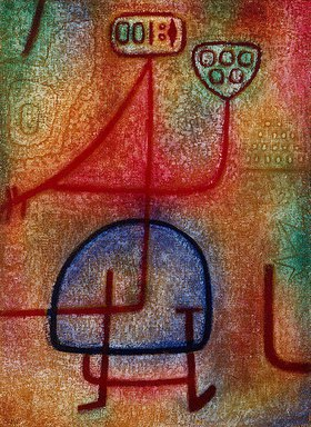 Paul Klee: La belle jardinière (Die schöne Gärtnerin)