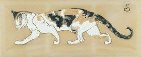 Théophile-Alexandre Steinlen: Die Katze (Le chat)