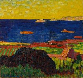 Alexej von Jawlensky: Küste bei Carantec