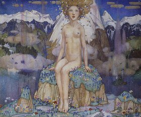 Edward Reginald Frampton: Die Liebe in den Alpen (Love in the Alps)