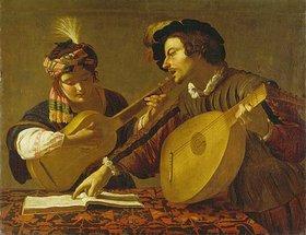 Bartolomeo Manfredi: Das musizierende Paar. (Kopie)