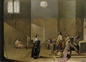 Jacob Duck: Kircheninneres als Wachstube. 17. Jh
