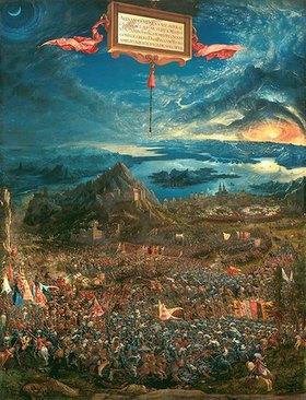 Albrecht Altdorfer: Die Schlacht bei Issus 333 v.Chr. (Alexanderschlacht)