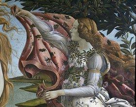 Sandro Botticelli: Geburt der Venus. Detail: Flora