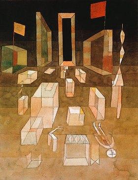 Paul Klee: Nichtkomponiertes im Ra