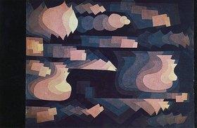Paul Klee: Fuge in Rot