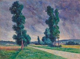 Maximilien Luce: Bessy-sur-Cure, die Straße