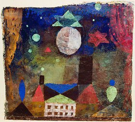 Paul Klee: Stern über bösen Häusern