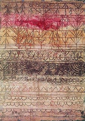 Paul Klee: Jungwaldtafel