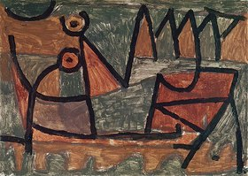 Paul Klee: Finstere Bootsfahrt
