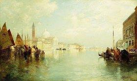 Thomas Moran: Canal Grande