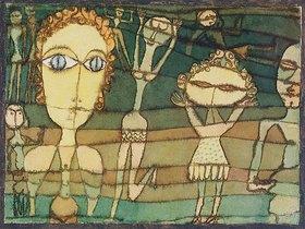 Paul Klee: Auf der Wiese
