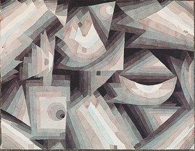 Paul Klee: Kristall-Stufung. 1921, 88