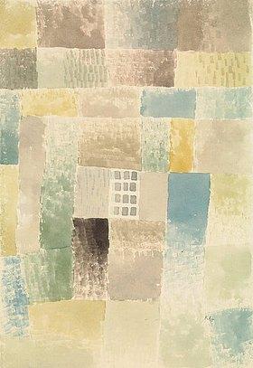 Paul Klee: Erstes Haus einer Siedlung