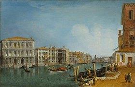 Michele Marieschi: Canal Grande bei Ca Pesaro