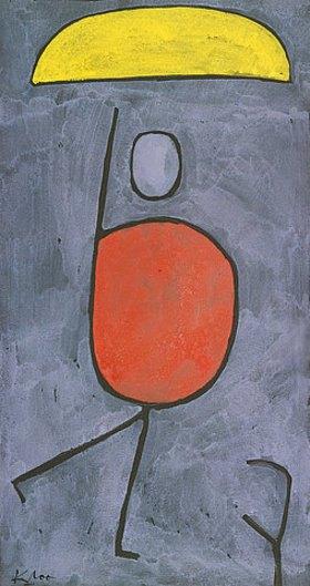 Paul Klee: Mit Sonnenschir