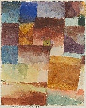 Paul Klee: In der Einöde