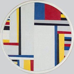 Fritz Glarner: Relationales Gemälde. Tondo Nr