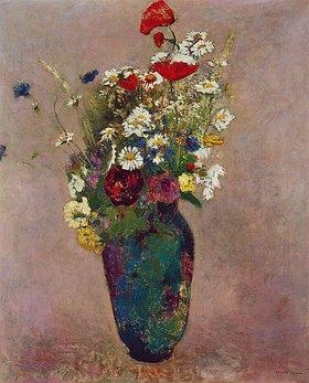Odilon Redon: Blumenvase mit Mohn