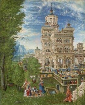 Albrecht Altdorfer: Susanna im Bade und die Steinigung der Alten