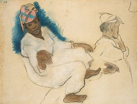 Paul Gauguin: Studie. Frauen aus Martinique (Etude de femmes martiniquaises)