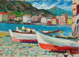 Wassily Kandinsky: Rapallo, Boote
