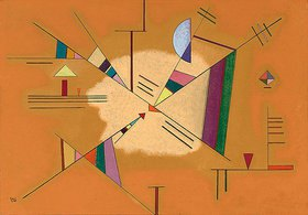 Wassily Kandinsky: Diagonal. 1930